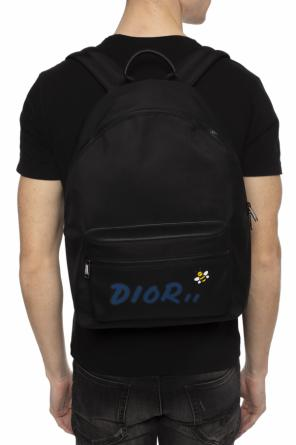 Bee motif backpack od Dior