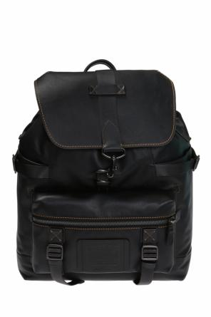Leather backpack od Coach