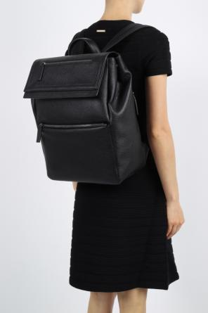 'free time' leather backpack od Salvatore Ferragamo