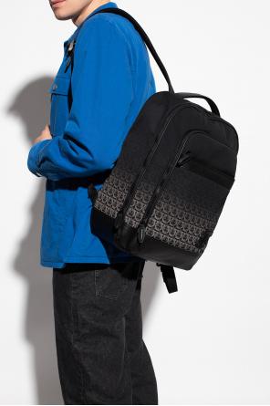 'nylon sf' backpack with logo od Salvatore Ferragamo