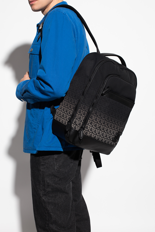 Salvatore Ferragamo 'Nylon SF' backpack with logo