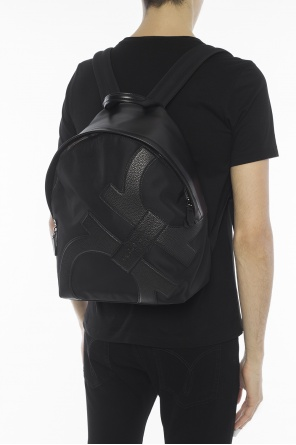 Leather logo backpack od Salvatore Ferragamo