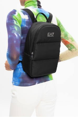 Backpack with logo od EA7 Emporio Armani