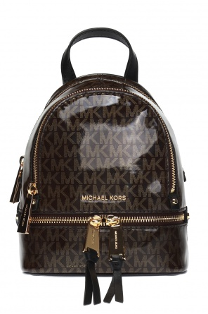 'rhea zip' backpack with logo od Michael Kors