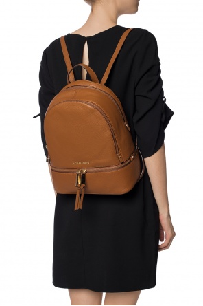 Rhea' backpack with a logo od Michael Kors