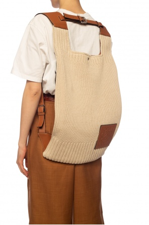 Woven backpack od Loewe