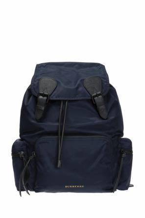 Backpack with metal logo od Burberry