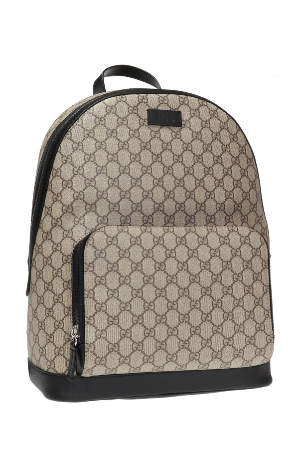 Branded backpack od Gucci