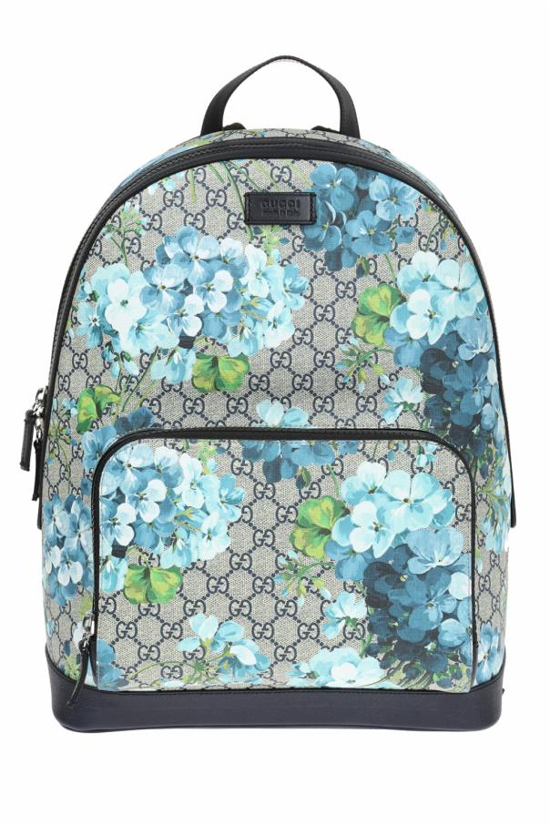 a718ce5b1910f Plecak z nadrukiem 'Blooms' Gucci - sklep internetowy Vitkac