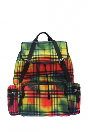 Checkered backpack od Burberry