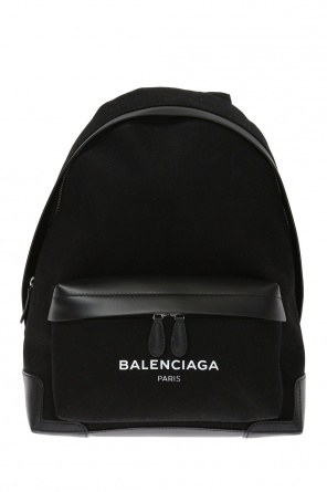 Denim backpack od Balenciaga