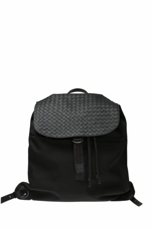 'intrecciato' canvas backpack od Bottega Veneta