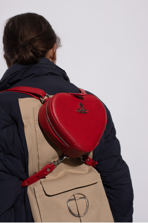 'polly mini' backpack with logo od Vivienne Westwood