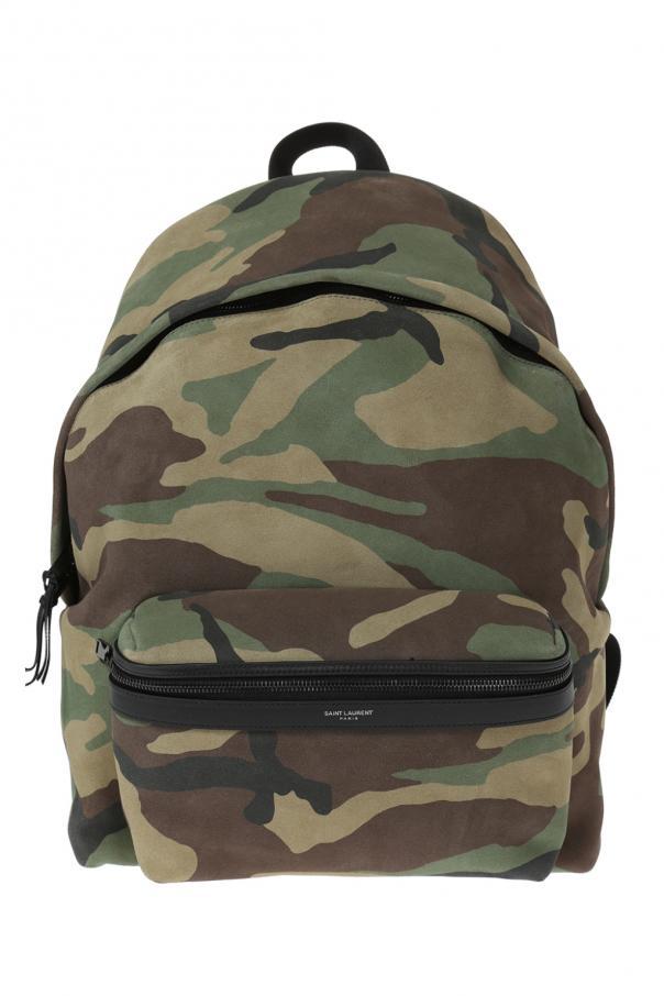City  camo backpack Saint Laurent - Vitkac shop online 9725df9646