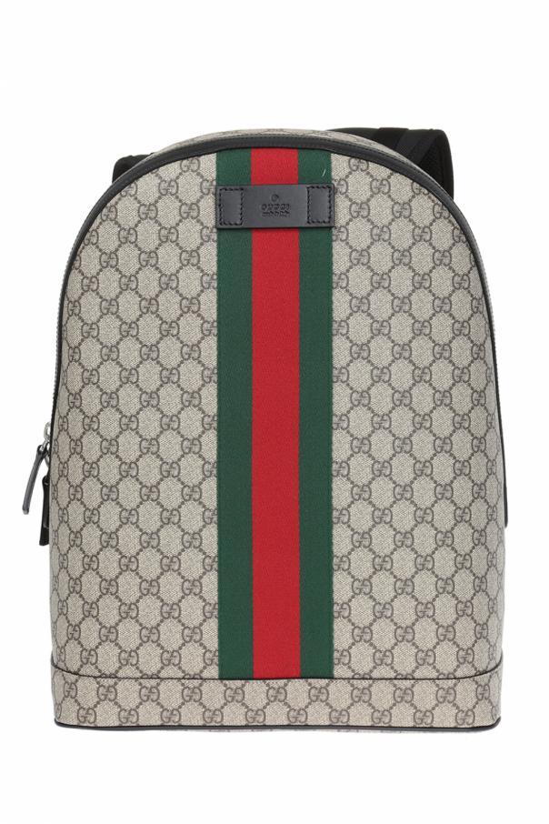 GG Supreme  canvas backpack Gucci - Vitkac shop online 66bda0bf0f203