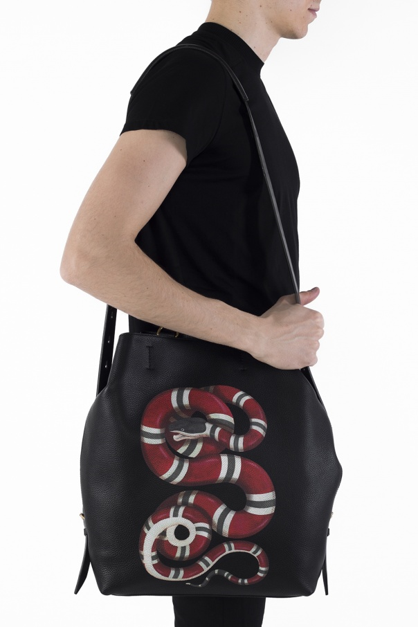 14571eb42ef5 Printed backpack Gucci - Vitkac shop online