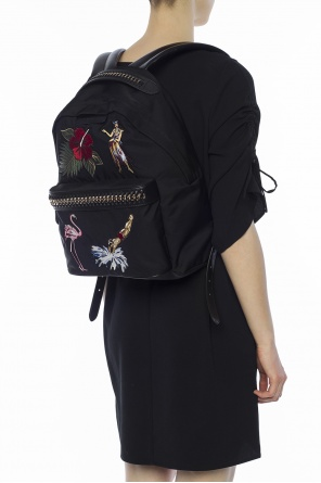 Patched backpack od Stella McCartney