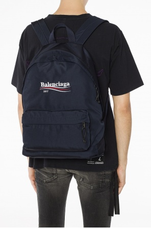 Logo-appliqued backpack od Balenciaga