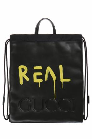 'guccighost' backpack od Gucci