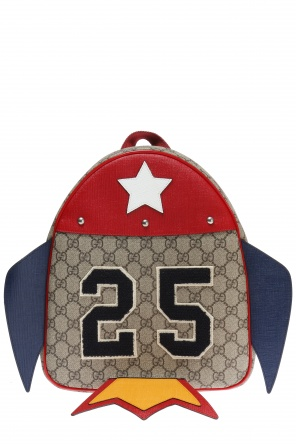 Rocket motif backpack od Gucci Kids