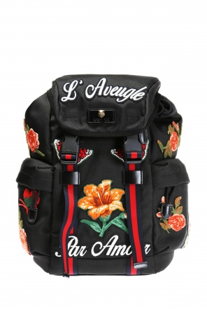 Patched backpack od Gucci