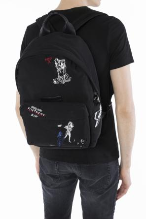 Embroidered backpack od McQ Alexander McQueen