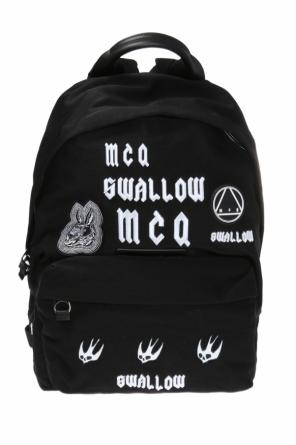 Patched backpack od McQ Alexander McQueen