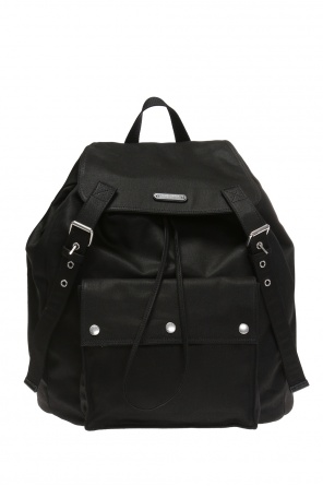 'neo' logo-embossed backpack od Saint Laurent