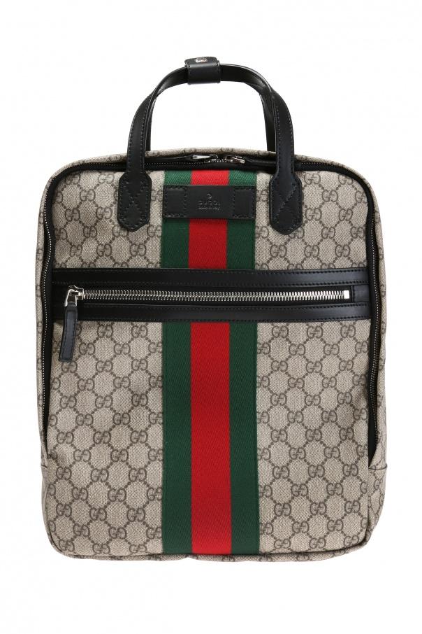 d729f3795ad Web  backpack Gucci - Vitkac shop online