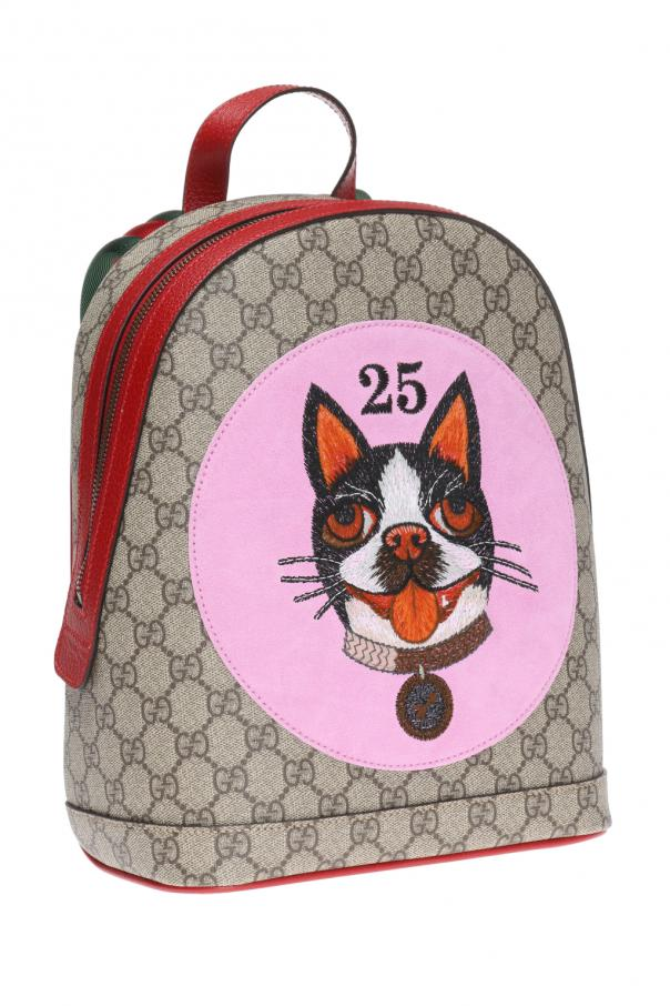 boston terrier backpack boston terrier bosco patched backpack gucci vitkac 4508