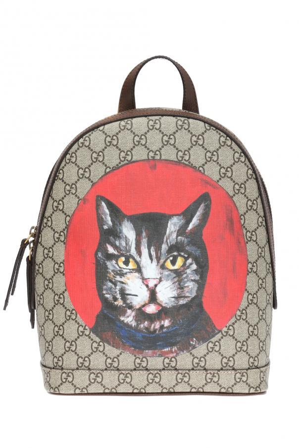 72bd974e7524 GG Supreme' canvas backpack Gucci - Vitkac shop online