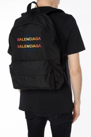 Embroidered logo backpack od Balenciaga