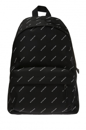 Explorer' backpack with a logo od Balenciaga