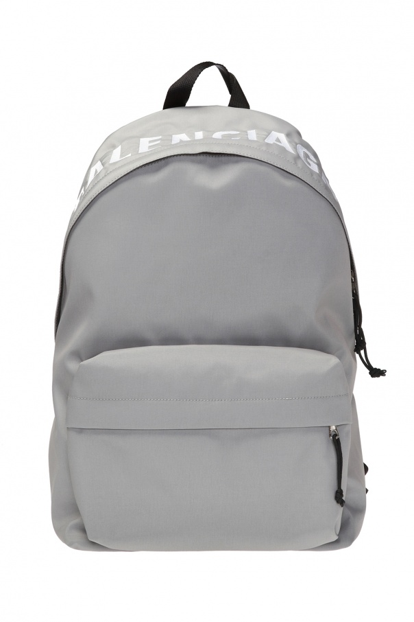 'wheel' backpack with logo od Balenciaga