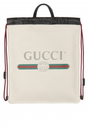 Printed logo backpack od Gucci