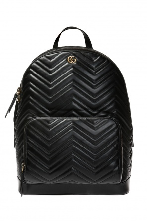 Quilted backpack with logo od Gucci