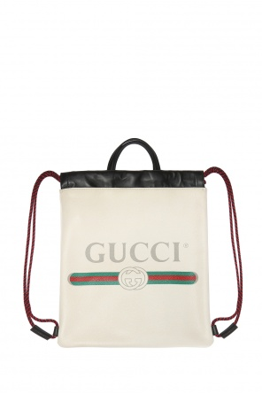 Backpack with a logo od Gucci