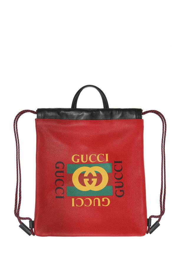 7e17bb47355 Backpack with logo print Gucci - Vitkac shop online