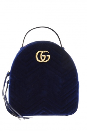 'gg marmont' backpack with logo od Gucci