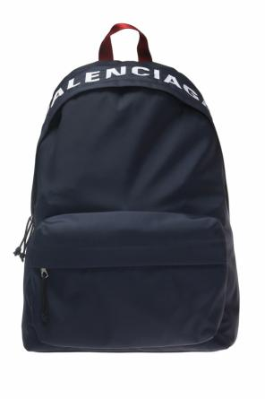 Backpack with an embroidered logo od Balenciaga
