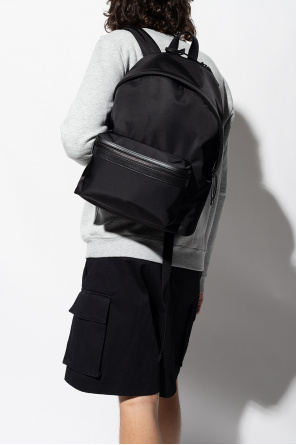 Backpack with logo od Saint Laurent