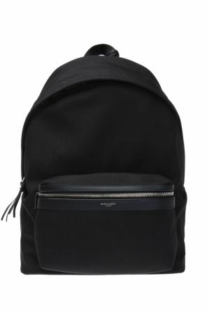 Backpack with logo od Saint Laurent