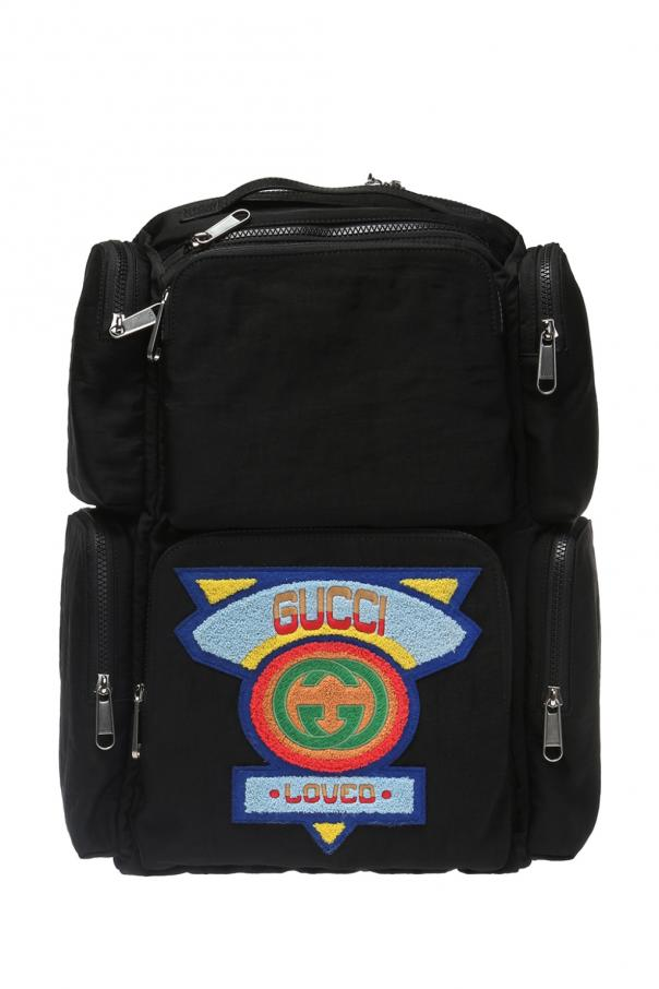 dad19b9dfb5 Logo-patched backpack Gucci - Vitkac shop online