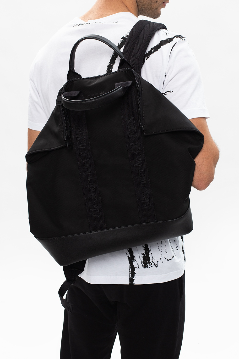 Alexander McQueen Backpack with logo