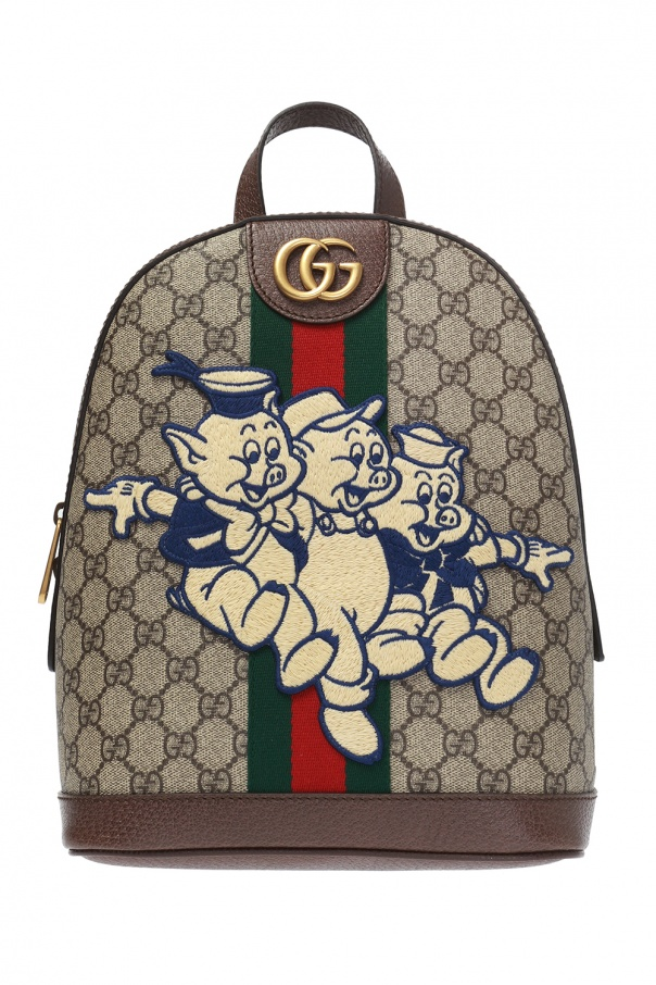 6e246bdf84cf Three Little Pigs  motif  Ophidia  backpack Gucci - Vitkac shop online