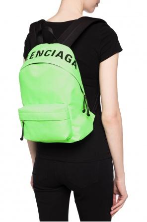 f468882bdbb Logo-embroidered backpack od Balenciaga ...