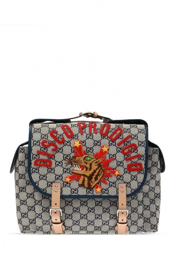 Gucci Kids Backpack with logo