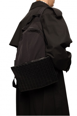 Backpack with leather trim od Bottega Veneta