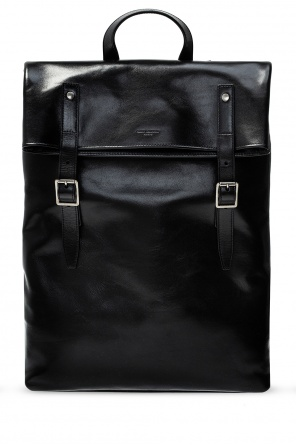 Leather backpack od Saint Laurent