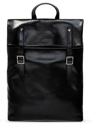 Leather backpack od Saint Laurent